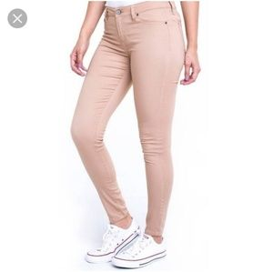 Muted Pink Jeans